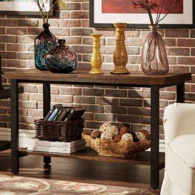 Buckner Brown Shelved Entertainment Center