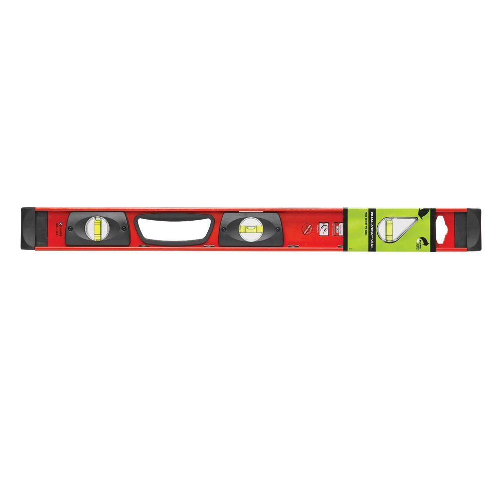 Kapro 24 in. Samson Magnetic Contractor I-Beam with Plumb Site