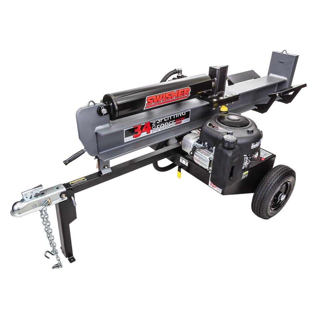 Swisher 34-Ton 344 cc 11.5 HP Electric Start Log Splitter