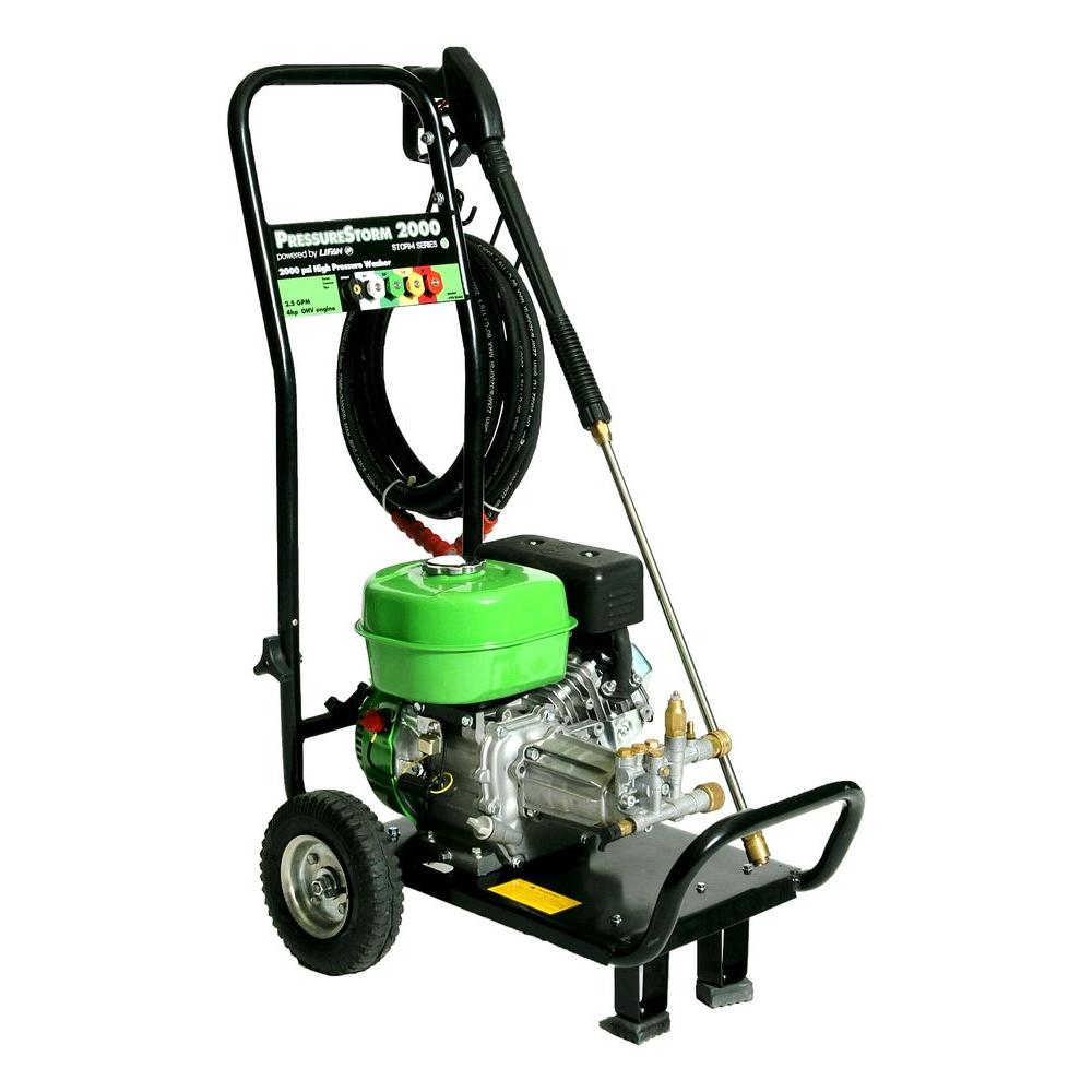 LIFAN 2,000-PSI 2-GPM 4 HP 118 cc OHV Engine AR Axial Cam Pump Gas Pressure Washer