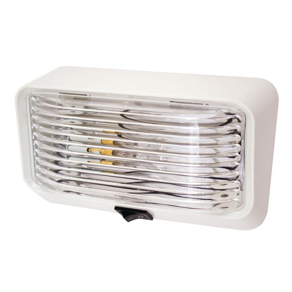 6 in. Rectangular Porch/Utility Light