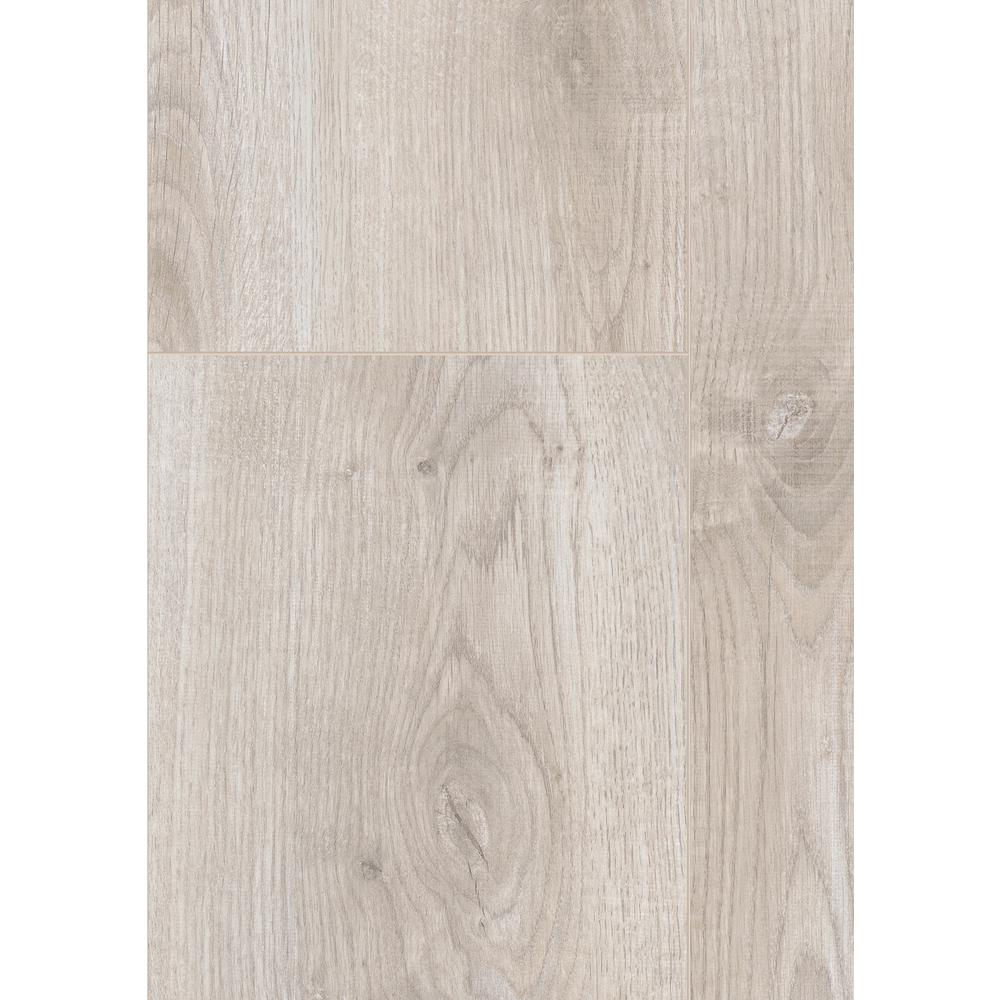 HomeDecoratorsCollection Home Decorators Collection Ventura Gray Oak 12 mm Thick x 6.26 in. Wide x 50.79 in. Length Laminate Flooring (15.45 sq. ft./case), Light