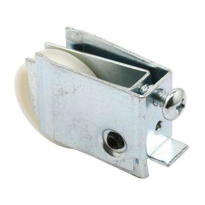 1-1/2 in. Nylon Ball Bearing Sliding Door Roller Assembly with 3/4 in. x 1-7/16 in. Housing