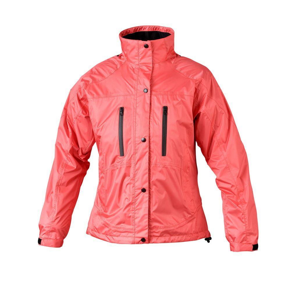 Ladies RX Large Salmon Rain Jacket