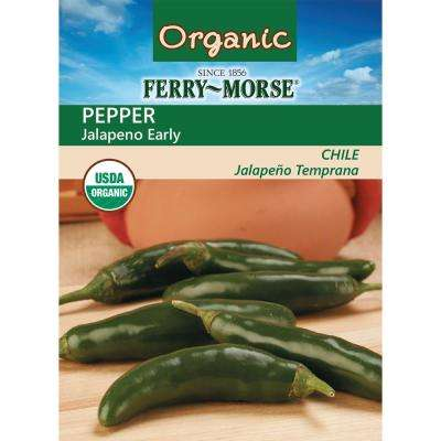 Pepper Jalapeno Early Organic Seed