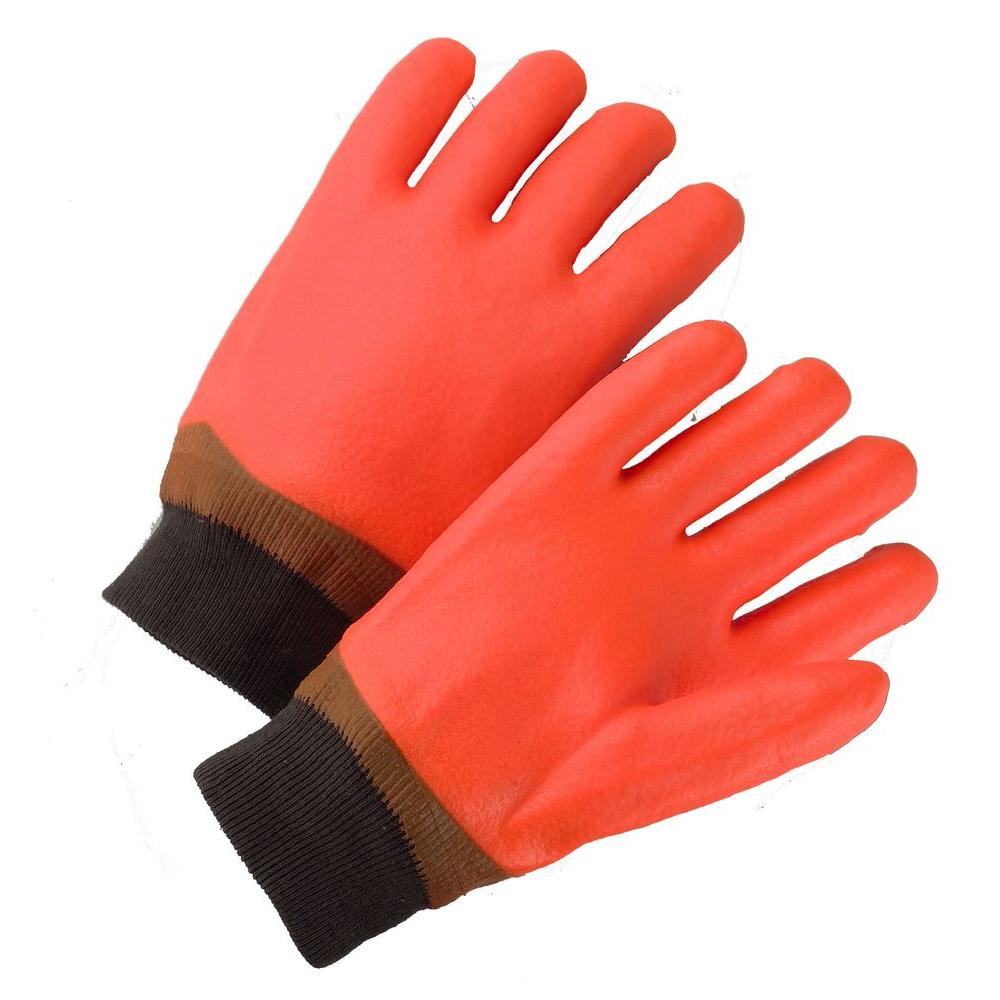 West Chester Medium Safety Orange PVC Coated Dozen Pair Gloves