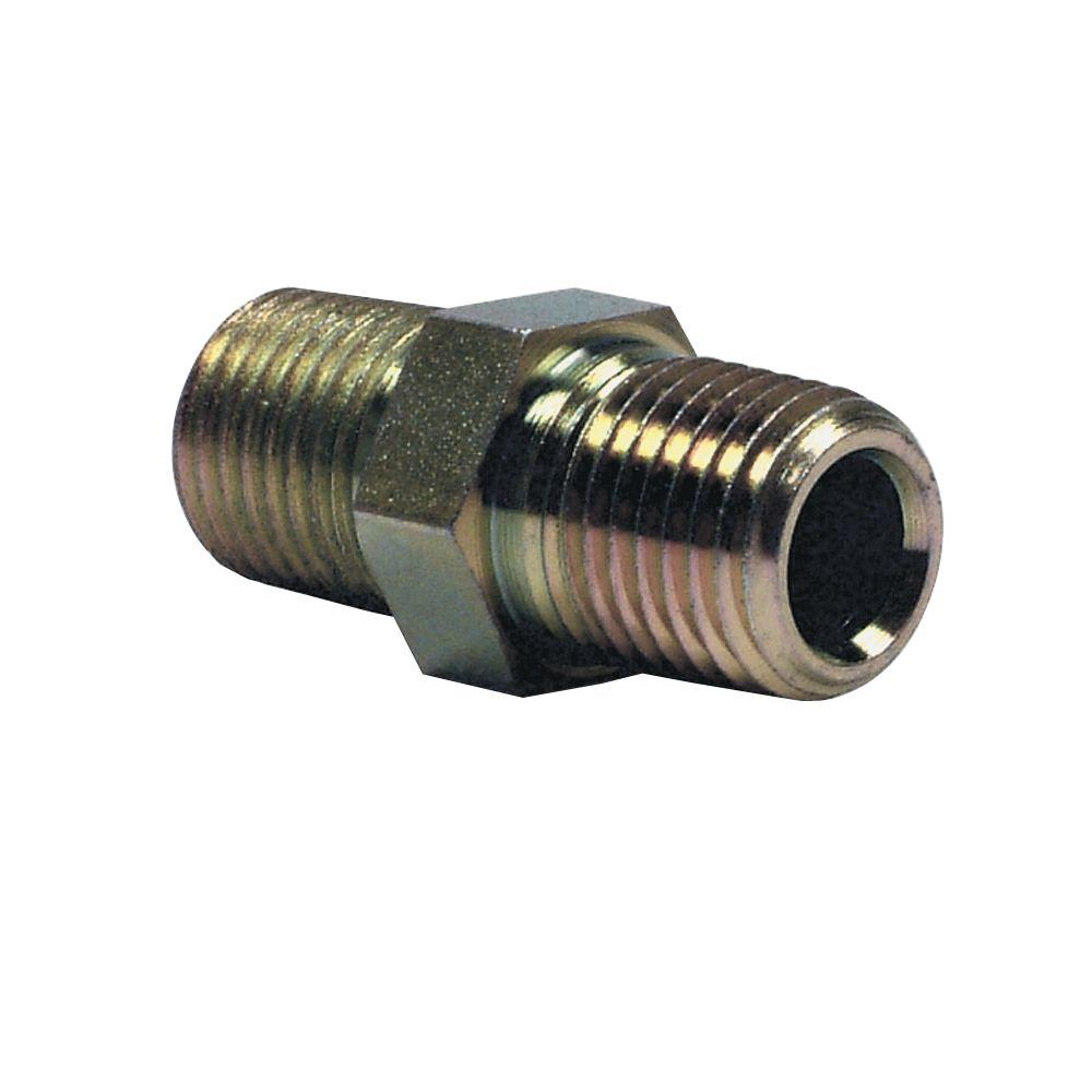 1/4 in. x 1/4 in. Hose Connector Fitting