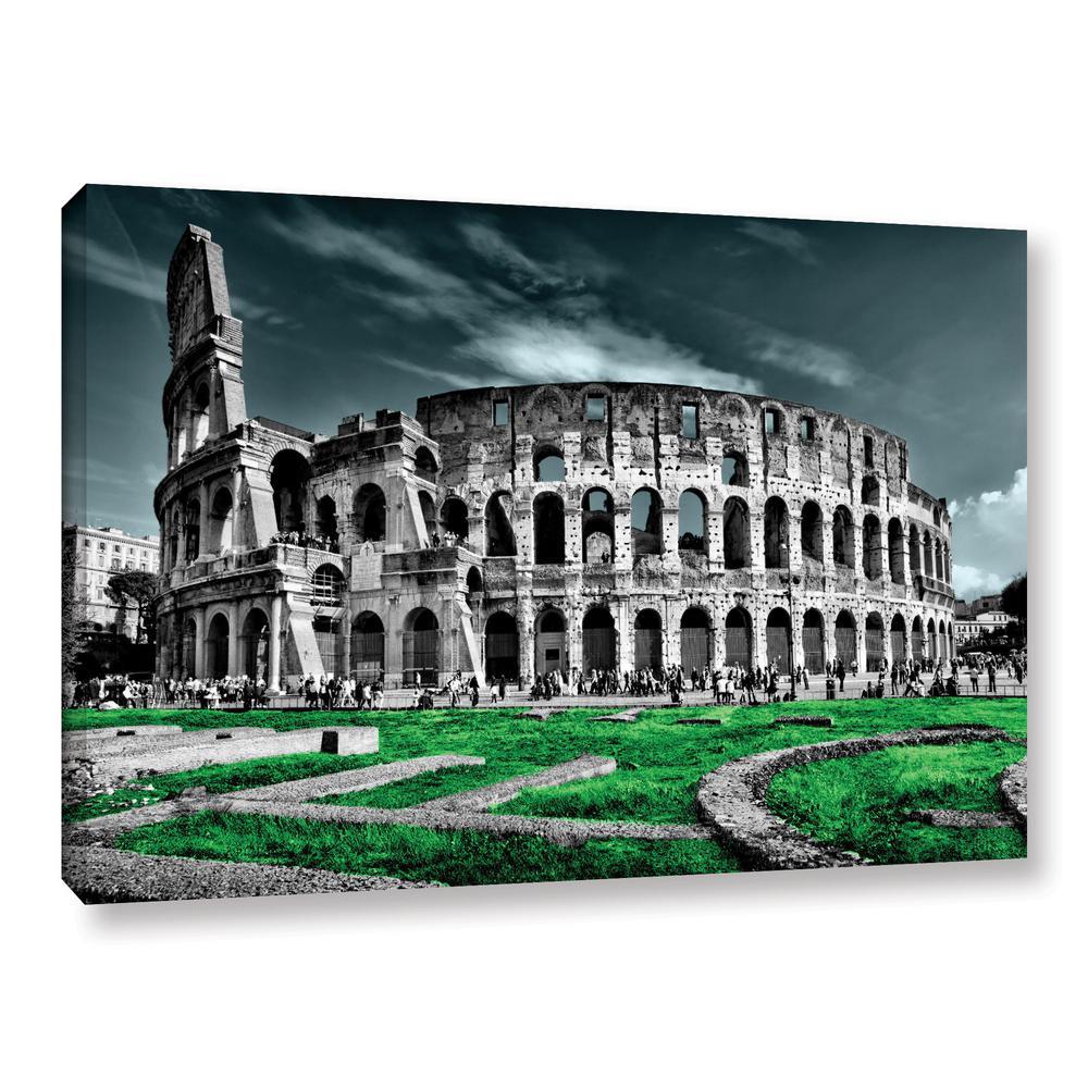 """Rome"" by Revolver Ocelot Unframed Canvas Wall Art"