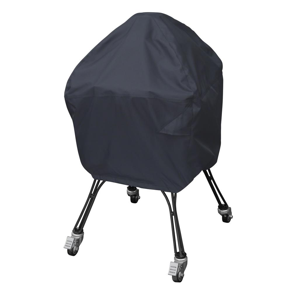 UPC 052963018554 product image for Classic Accessories X-Large Ceramic Grill Cover, Black | upcitemdb.com