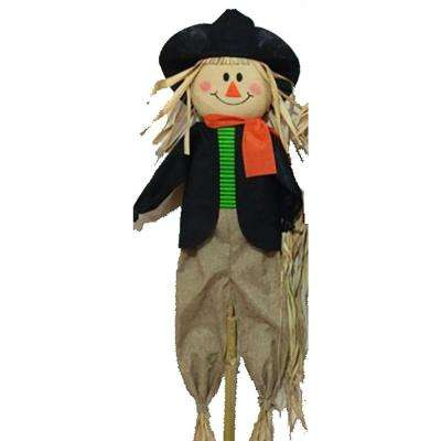 72 in. Scarecrow Stake Assorted