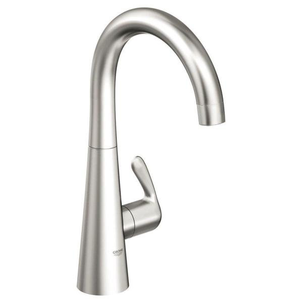 GROHE LadyLux 3 Single-Handle Faucet in RealSteel