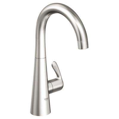 LadyLux 3 Single-Handle Standard Faucet in RealSteel