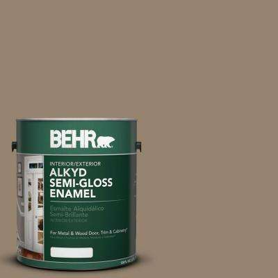 1-gal. #AE-29 Twisted Branch Semi-Gloss Enamel Alkyd Interior/Exterior Paint