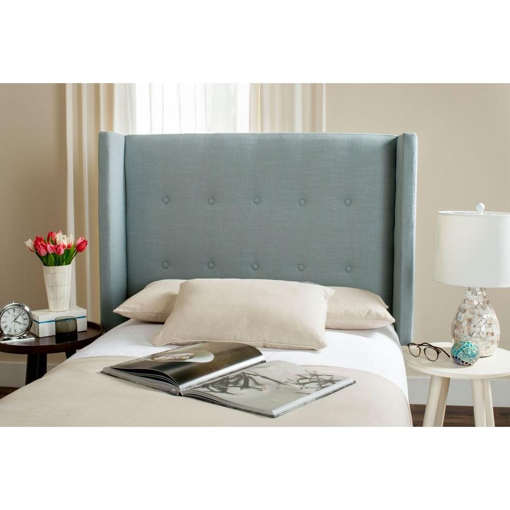 Safavieh Dane Denim Blue Twin Headboard Mcr4032c The Home Depot