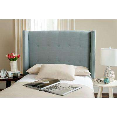 Damon Sky Blue Twin Headboard