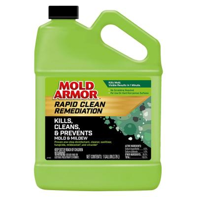 Spray Forget 64 Oz House And Deck Outdoor Mold And Mildew Cleaner Concentrate Sfdch04 The Home Depot
