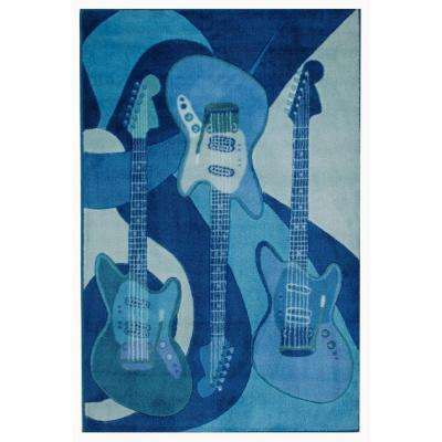 Supreme The Blues 3 ft. x 5 ft. Area Rug