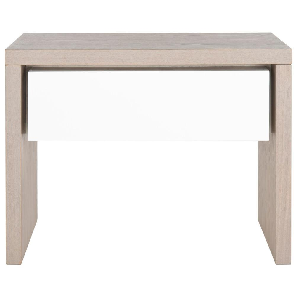 Jonco Grey and White Side Table
