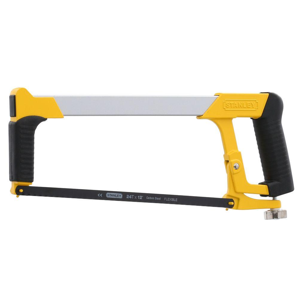 Stanley 12 in. Hack Saw with Plastic Handle