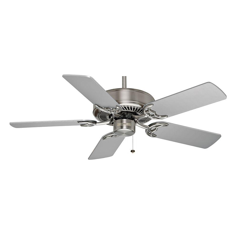 Casablanca Four Seasons III 42 in. Brushed Nickel Ceiling Fan-DISCONTINUED