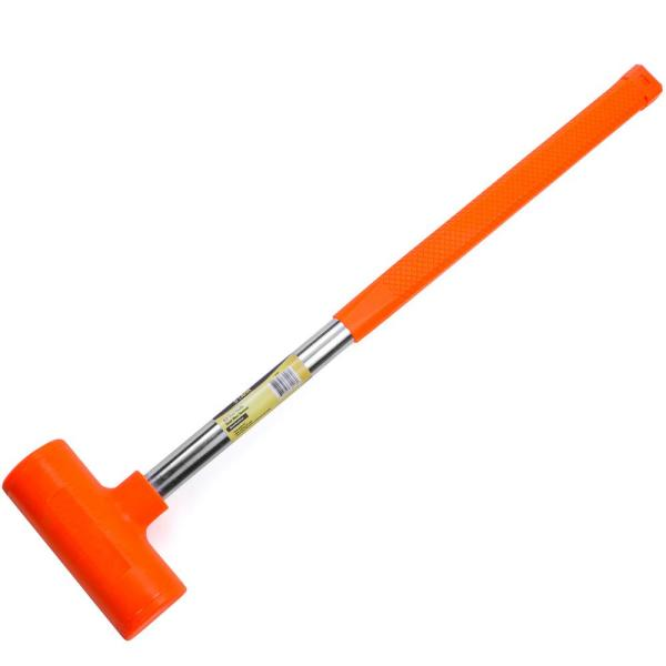 Stark 144 Oz Dead Blow Hammer With Steel Handle 15155 The Home Depot Dead blow hammers are great for pounding in pegs, loosening stuck parts, furniture building or repair, etc. usd