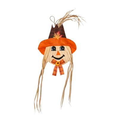 36 in. Hanging Scarecrow Face