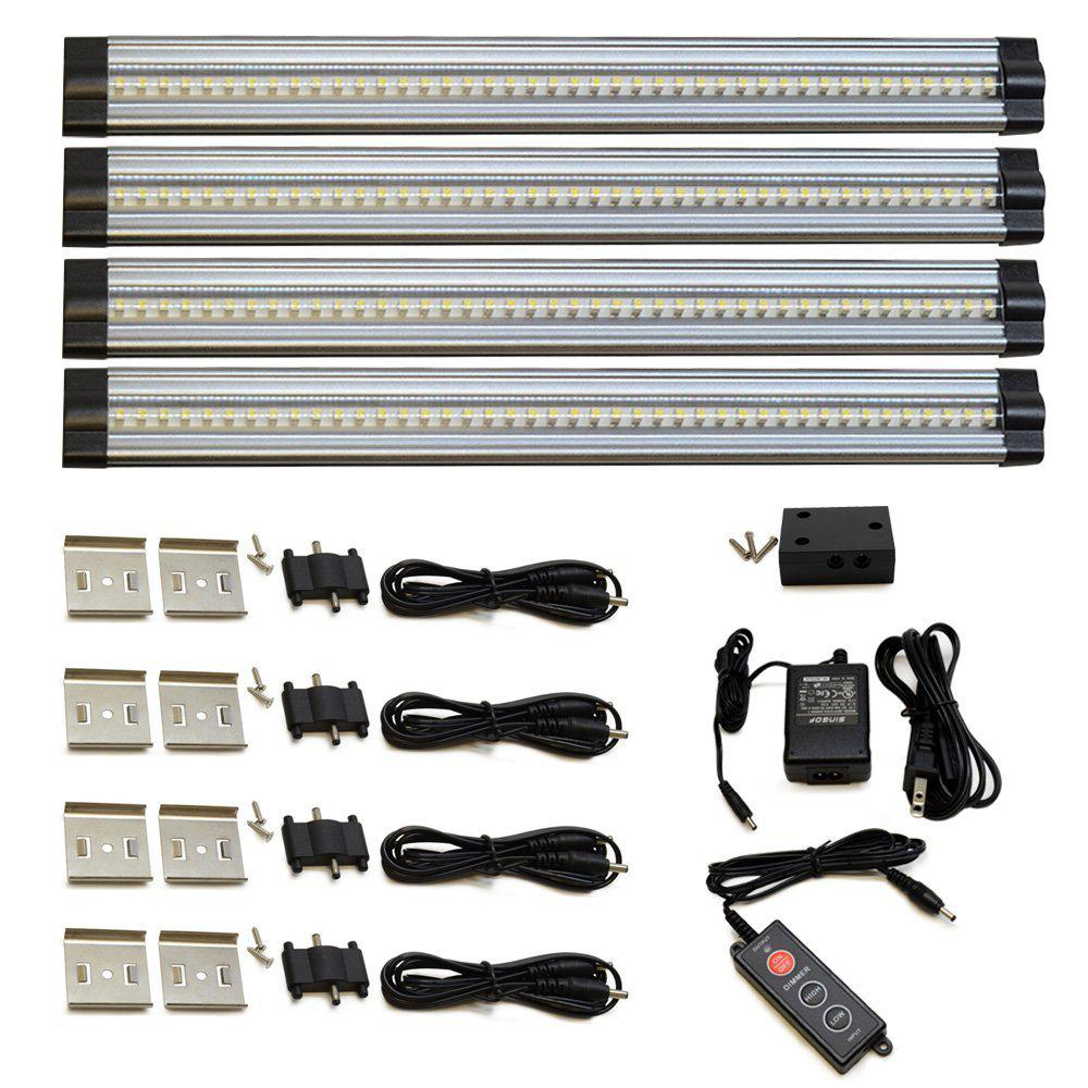 Bon 4000K Neutral White LED Under Cabinet Light (4 Piece)