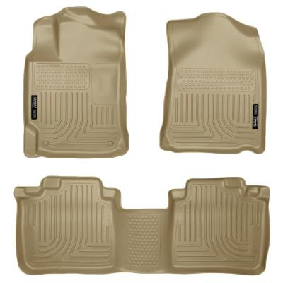 Husky Liners Front /& 2nd Seat Floor Liners Footwell Coverage Fits 08-11 Focus 98311