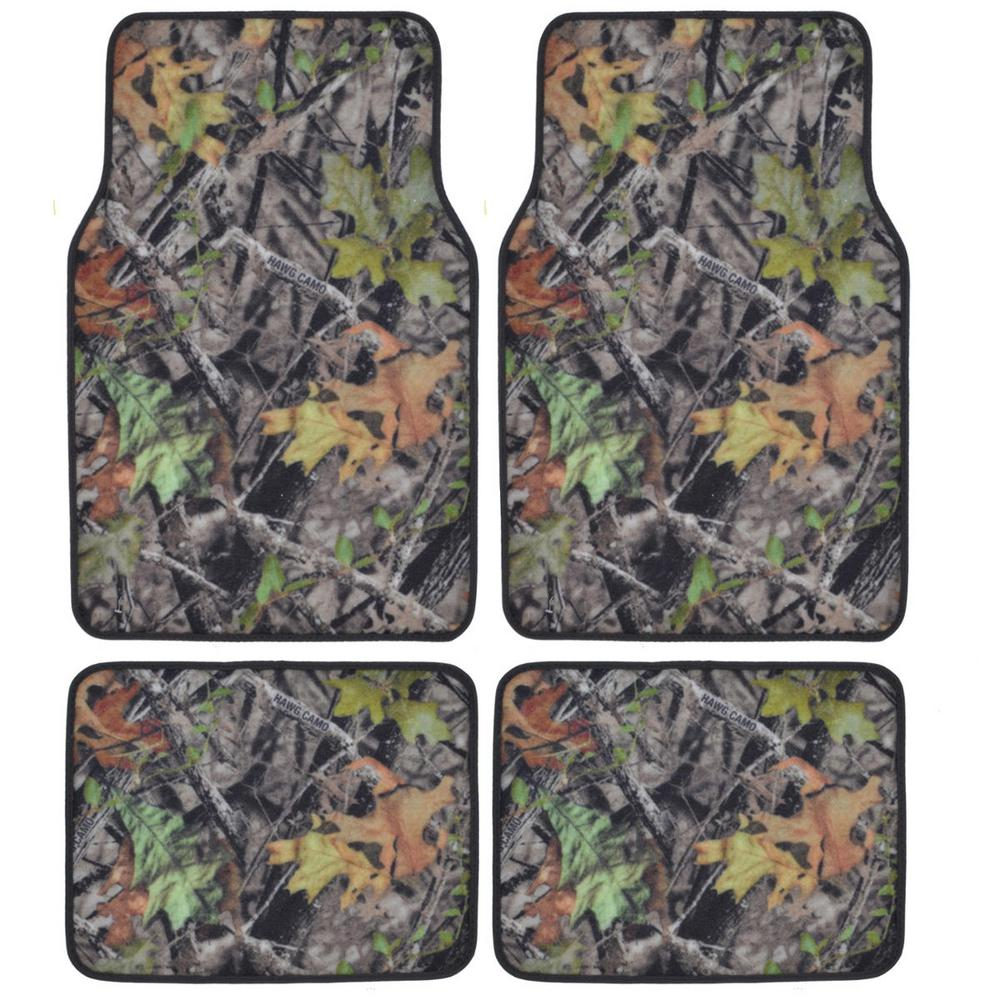 Bdk Hawg Camouflage Mt 704 Full Camo 4 Pieces Car Floor