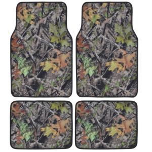BDK Hawg Camouflage MT-704 Full Camo 4 Pieces Car Floor Mats by BDK
