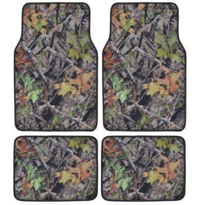 Hawg Camouflage MT-704 Full Camo 4 Pieces Car Floor Mats