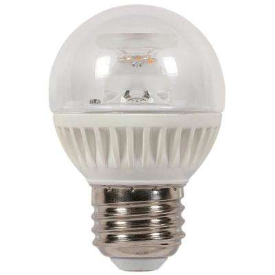 60W Equivalent Soft White G16-1/2 Dimmable LED Light Bulb
