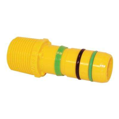 Fast Fittings 1 in. x 1 in. MPT Insert Male Adapter (25-Pack)
