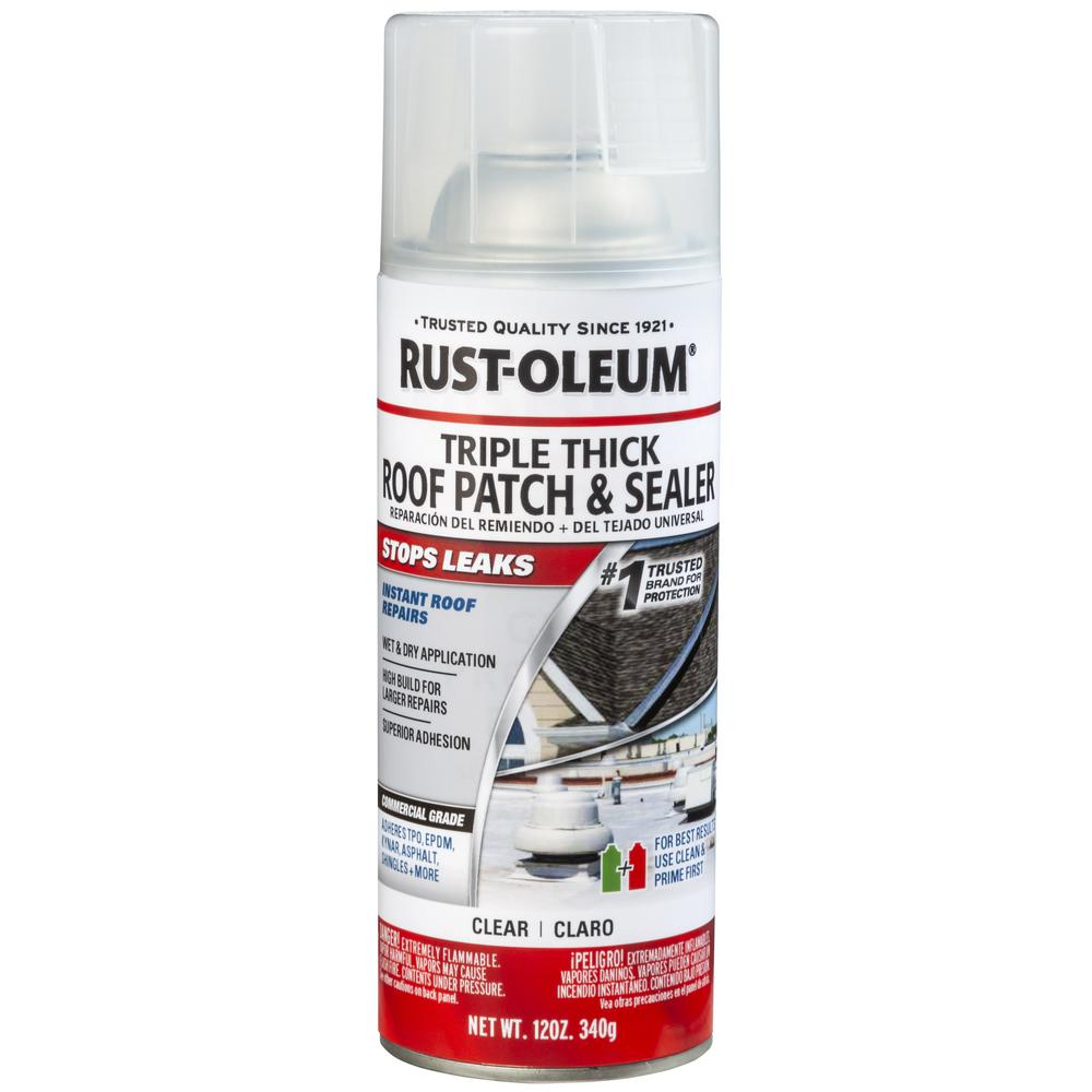 Rust-Oleum 12 oz. Clear Roof Patch Sealer Spray