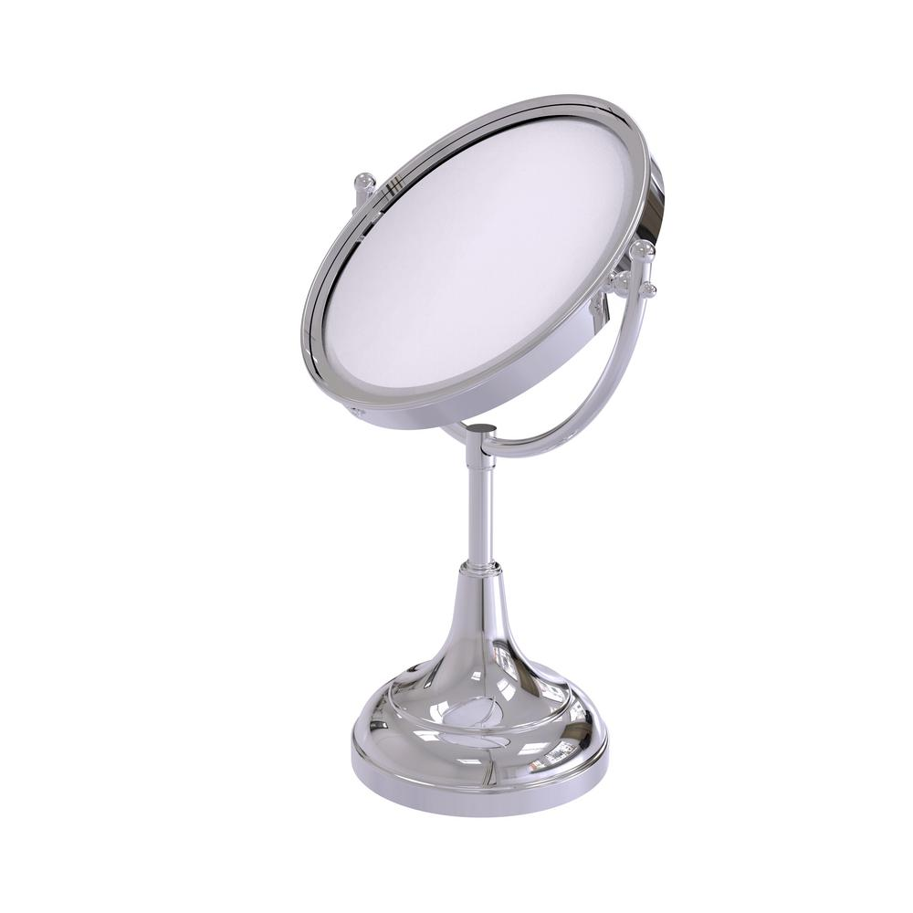 15 in. x 8 in. Vanity Top Make-Up Mirror 5x Magnification