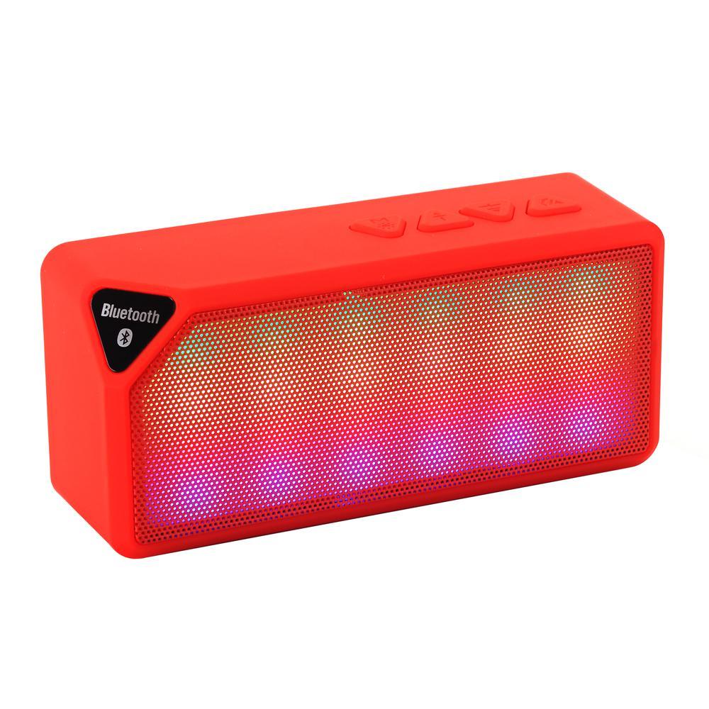 Icon+ Bluetooth Speaker, Red