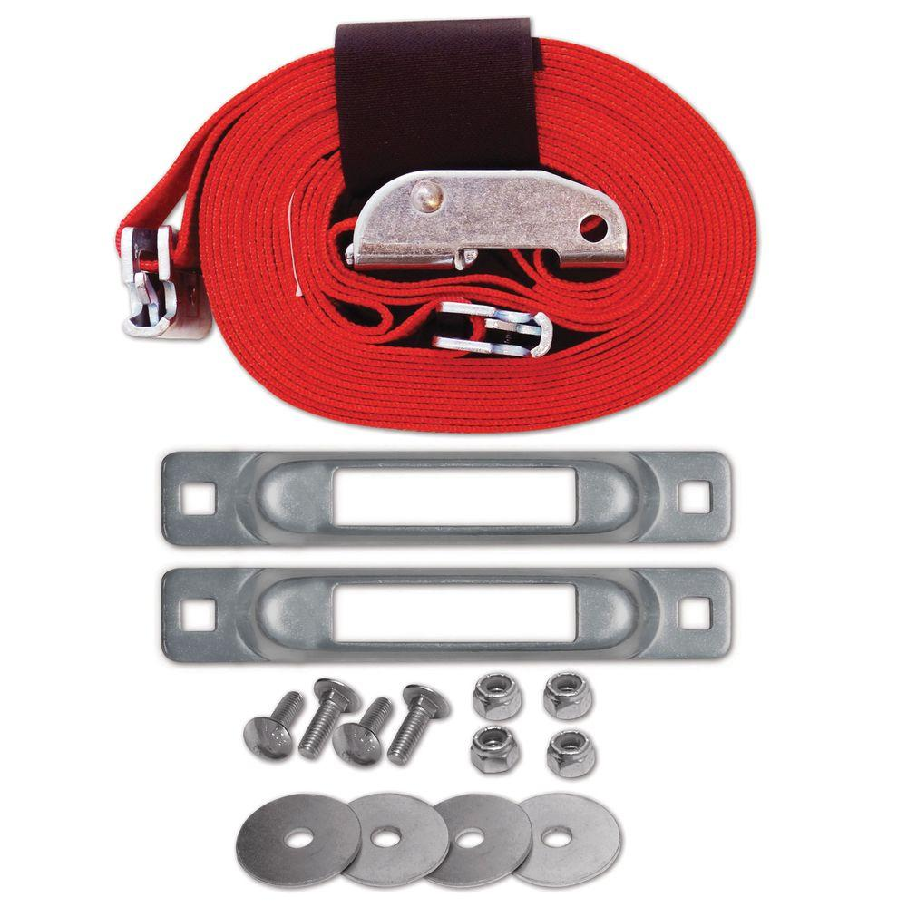 16 ft. x 2 in. Cart Strap Anchor Kit with Cam