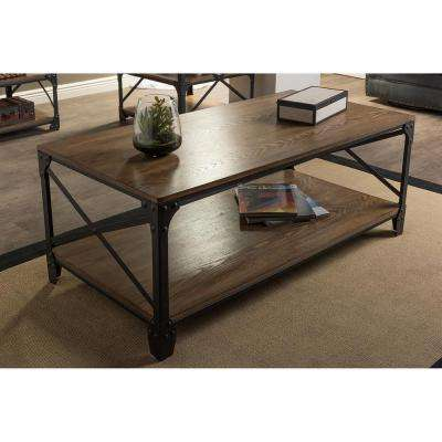 Greyson Antique Bronze Coffee Table