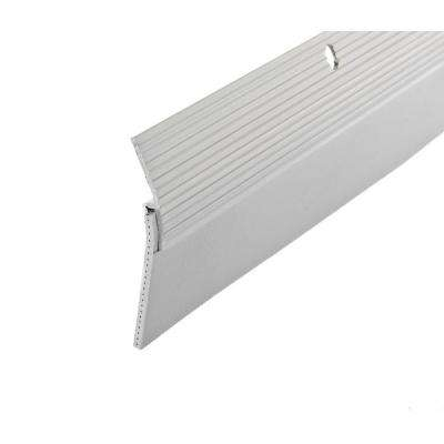 E/O 2 in. x 36 in. White Reinforced Rubber Door Sweep