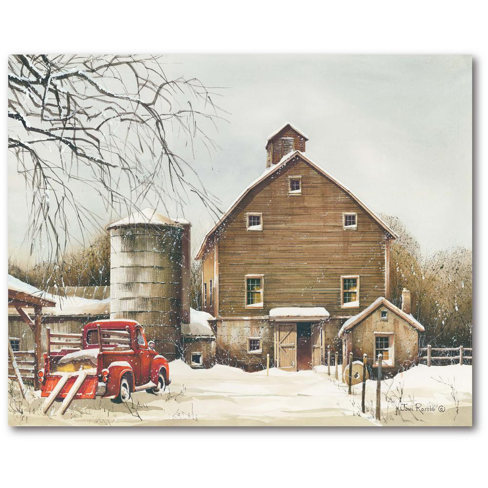 Courtside Market Clearing Out 16 in. x 20 in. Gallery-Wrapped Canvas Wall Art, Multi Color was $70.0 now $38.93 (44.0% off)