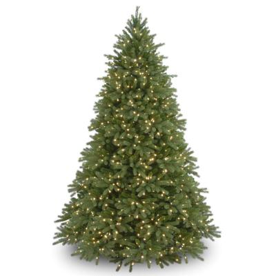 7.5 ft. Jersey Fraser Fir Deluxe Tree with Dual Color LED Lights