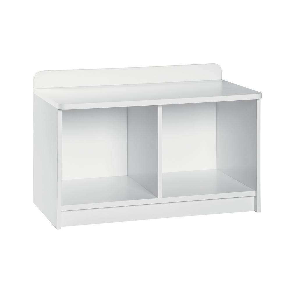H White 2 Cube Bench