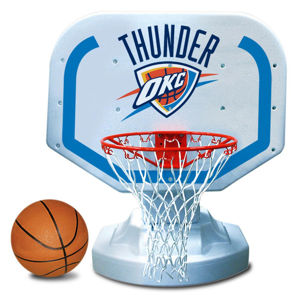 Oklahoma City Thunder NBA Competition Swimming Pool Basketball Game
