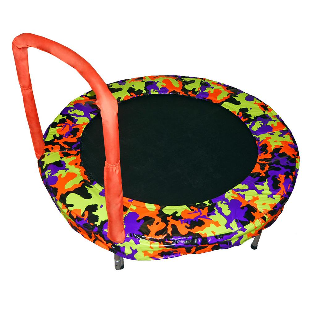 Jumpking 48 in. Orange Camo Bouncer
