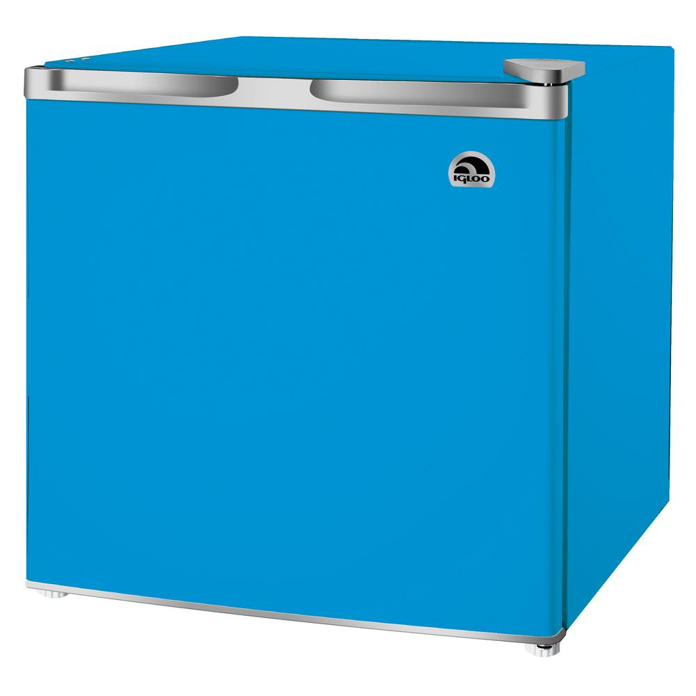 Igloo 1 6 Cu Ft Mini Refrigerator In Blue Fr115i B Blue