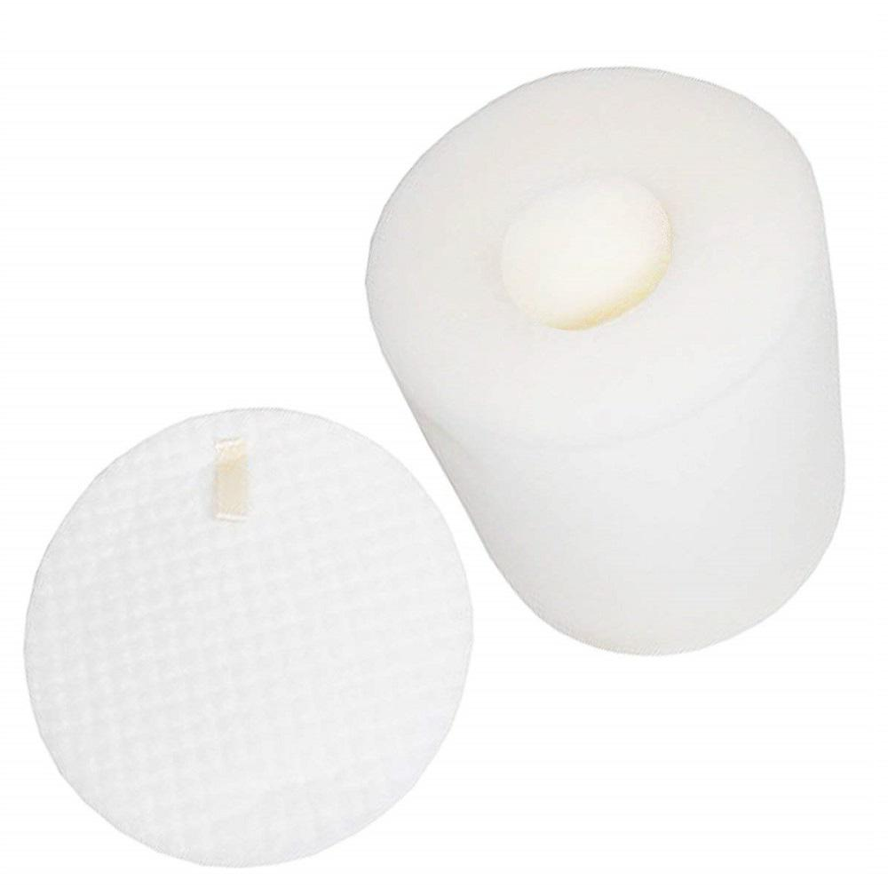 Shark Replacement Foam and Felt Filters, Fits Shark NV500 Rotator Pro Lift-Away, Compatible with Part XFF500 (2-Pack)