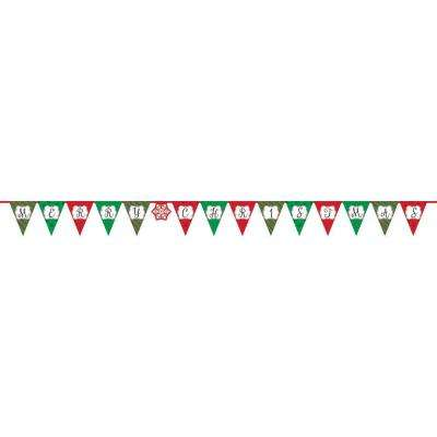 9 in. x 150 in. Christmas Pennant Banner (3-Pack)