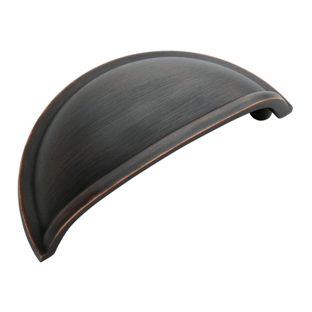 Amerock Allison 3 inch (76 mm) Oil Rubbed Bronze Drawer Cabinet Pull (10-Pack) by Amerock