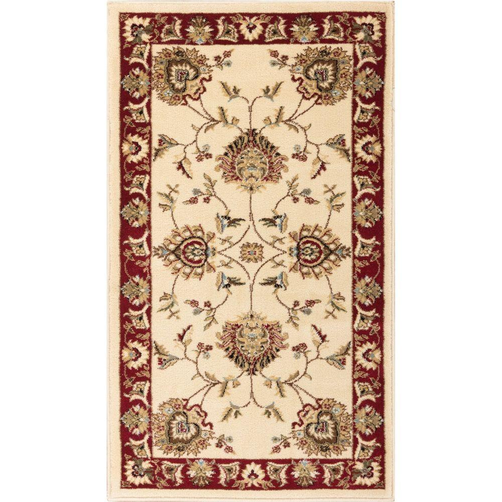 Well Woven Timeless Abbasi Ivory 2 Ft. 3 In. X 3 Ft. 11 In