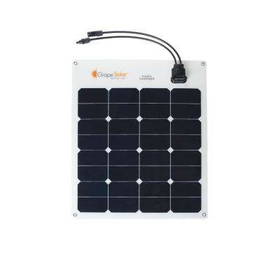 50-Watt Flexible Monocrystalline Solar Panel